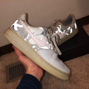 🔴 Air Force 1 Grey Reflective Camo
